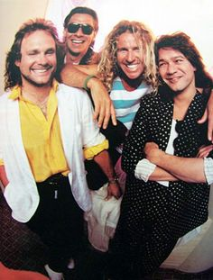 "Van Halen ""I love Sammy Hagar, a lot of people say he ruined Van Halen, I say he saved them and brought them into a different light that David Lee Roth couldn't do. Such a talented group of people...both with David Lee Roth & with Sammy Hagar"