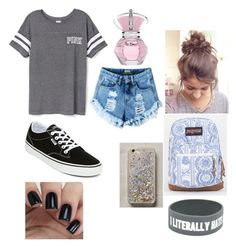 """Sup☯"" by isabellmurillo on Polyvore featuring Victoria's Secret, Vans, JanSport and Anthropologie"
