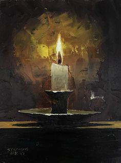 Craig Stephens | OIL | Candle