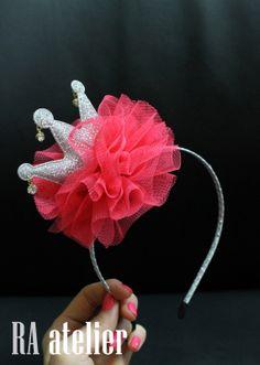 HANDMADE crown headband