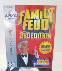 Family Feud DVD Game 3rd Edition host John O Hurley Imagination TV games 2007 #Imagination