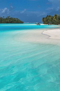 Aitutaki, Cook Islands, Paradise, Holiday Destination, White Sand, Clear Blue Water Places Around The World, Oh The Places You'll Go, Places To Travel, Places To Visit, Tahiti, Bora Bora, Vacation Destinations, Dream Vacations, Vacation Spots