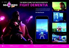 Sea Hero Quest | Social Good Mobile Game to Help Dementia Research  | Award-winning Service Innovations | D&AD Social Campaign, Advertising Campaign, Mobile Marketing, Digital Marketing, Dementia Research, App Play, Saatchi & Saatchi, Best Mobile, Mobile Game