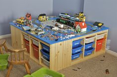 This is one of my most favorite gifts given this Christmas.  My son loves Lego, but we haven't had a nice place for him to build and pl...