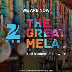 We are pleased to welcome @zeetvme as our Title Sponsors!  #thegreatmela #lifeisamela and #itallhappensinbetween . . . . #party #celebrations #celebrate #comingsoon #dubai #mydubai #india #dubaievents #music #food #shopping #dubaifoodie #dubaifoodies #dubaishopping #november #events #eventsinuae #uae #myuae #zeetv #zee #zeetvme #fun #festival #midweekmotivation #wednesdays #fleamarket