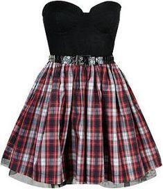 ❤Kawaii Love❤ ~This is such a cute dress Fabulous Dresses, Beautiful Outfits, Cute Dresses, Punk Outfits, Cool Outfits, Fashion Outfits, Punk Fashion, Gothic Fashion, Womens Fashion
