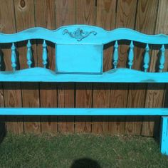 Cheap French Provincial headboard made over.