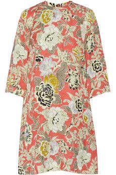 Etro Printed jacquard dress | NET-A-PORTER