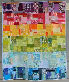 BABE'S BLANKET: This is the most-amazing baby quilt. How precious is this? There's a link to her Etsy shop, with some other quilts as well.