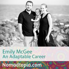 Emily set herself up as a location-independent freelance writer so she'd be ready to go anywhere her husband's job might take them, and they're currently living in Maputo, Mozambique, with their two-year-old daughter (and another baby on the way!). Although she considers herself a digital nomad by circumstance, not by choice, Emily loves living overseas and working remotely. Check out her story at Nomadtopia Radio: http://www.nomadtopia.com/emilymcgee/