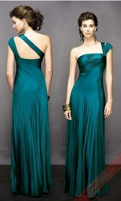 bridesmaids dresses? but shorter? i just like the top half, the way the shoulder is.
