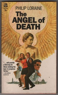 The Angel of Death by Philip Loraine Nice collectible Vintage Paperback