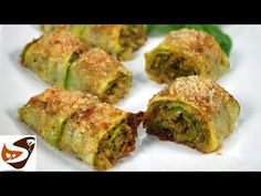 Involtini di zucchine al forno, velocissimi e buonissimi! – Ricette veloci - YouTube