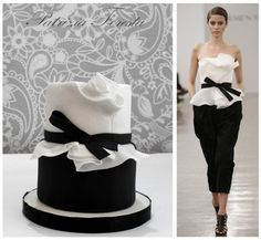 from catwalk to cake just stunning !