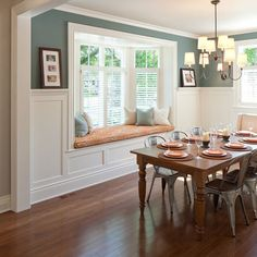 Ordinaire Wainscoting Dining Rooms, Dining Room Windows, Dining Room Walls, Living  Room, Bay