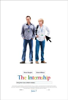 "Vince Vaughn & Owen Wilson Star in ""The Internship,"" A Comedy About Interning at Google"