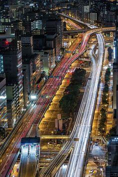 ˚Hanshin Expressway No. 16 Osaka Port Route