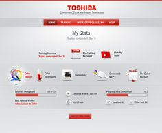 Toshiba CCIT on the Behance Network