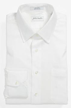 #John W. Nordstrom #Tops #John #Nordstrom #Traditional #Dress #Shirt #White John W. Nordstrom Traditional Fit Dress Shirt White 18 - 34 http://www.seapai.com/product.aspx?PID=5127942