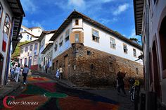 Antiga Cidade - Ouro Preto - MG - Brasil