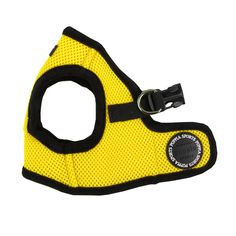 Mesh Soft Harness Vest by Puppia - Yellow at BaxterBoo