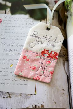 How to make a bookmark | Minki's Work Table                                                                                                                                                                                 More