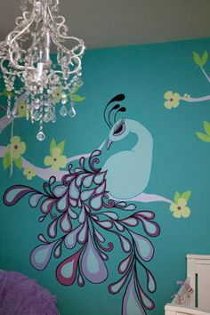 Pretty as a Peacock by InCahootsDesign on Etsy, $200.00 original design by Lindsay Moynihan