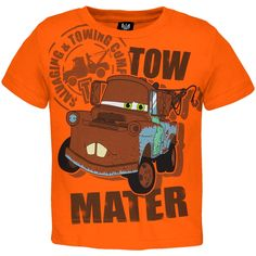 Cars - Mater Towing Company Toddler T-Shirt | OldGlory.com