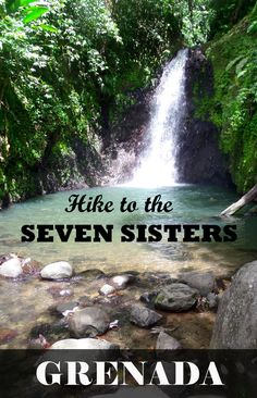 Hike to these beautiful waterfalls deep in the heart of Grenada.