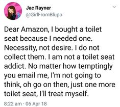 Tweets addressing dumb Amazon algorithms like this are the best