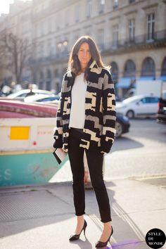 GeraldineSaglio in Paris.