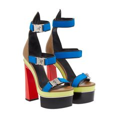 f02f1797c91 Versace Medusa Band Platform Sandals for Women