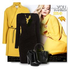 """Color trend - Yellow"" by fashion-architect-style ❤ liked on Polyvore featuring L.K.Bennett, Karen Millen, Giuseppe Zanotti and Carrera y Carrera"