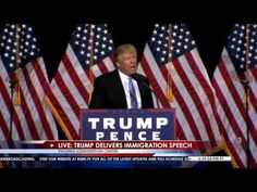 Rousing speech on Immigration 8/31/16:  WATCH full replay -  Donald Trump Rally in Phoenix, AZ LIVE Stream – Right Side Broadcasting