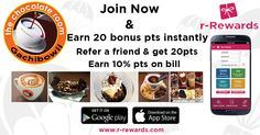 Make your day more Sweeter and Delicious with Chocolates.  #TheChocolateRoom, #Gachibowli's special offers are perfect for any chocoholic. Celebrate special occasions with friends and family and stock up points with r-Rewards guest loyalty program. So don't look back now, stay connected and avail more benefits. http://www.r-rewards.com