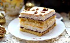 """Торт-пирожное """"Госпожа Валевска"""" (Рani-walewska)   Кулинарные рецепты от «Едим дома!»"""