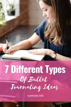 7 Different Types of Bullet Journaling Ideas