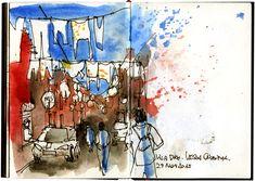 Urban Sketchers: East Lisbon