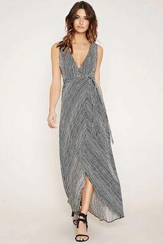 Contemporary Stripe Maxi Dress #f21contemporary