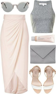Spring Polyvore Combinations in Baby Pink: Faddish Women
