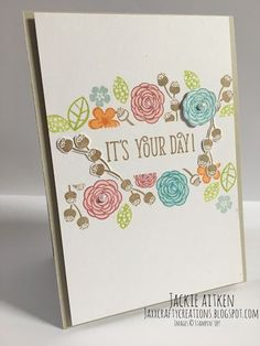 Jaxx Crafty Creations: Happy Birthday Gorgeous - Stamps