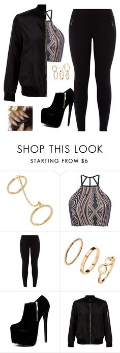 """Don't Kill The Fun~Sevyn Streeter ft. Chris Brown"" by kitty900 ❤ liked on Polyvore featuring Ecru, Triya, New Look and H&M"