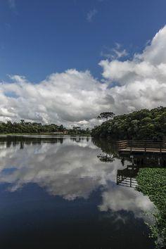 Nem Botânico, nem Barigui. Parque mais buscado por curitibanos é o Lago Azul  Atração do Umbará junta sossego e beleza e está à frente dos principais pontos turísticos nas buscas no site do Instituto Municipal de Turismo.