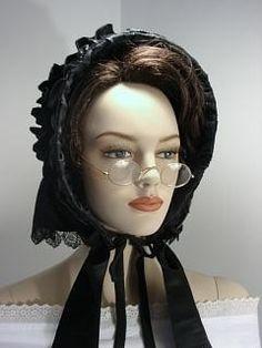 Drawn or Flounced Civil War Bonnet