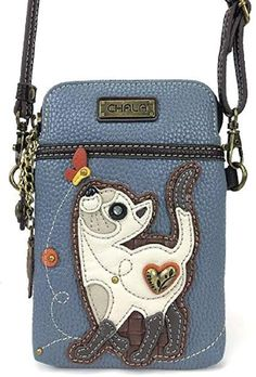 Amazon.com  CHALA Charming Playful Kitten Cat Cell Phone Purse Mini  Crossbody Bag  569f259417