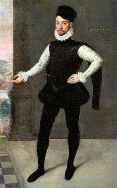 Portrait d'un jeune homme, par François Clouet