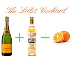 my FAVORITE thanksgiving drink: the lillet cocktail. #holidayentertaining