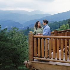 Romantic Smokies: Here in the Smokies, you can stay in rustic luxury for less than you'd pay (per couple) for a mid-range chain hotel. Luxury-- in a cabin? You bet. Think game rooms, flat-screen TVs, forever views--even indoor pools and theaters. You can afford it. Really. We've picked the best cabins for your romantic getaway and even broken them down by budget.