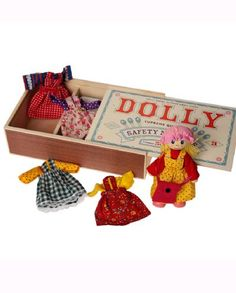 Match box dolly. A sweet doll with 5 outfit changes.