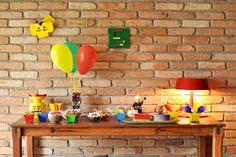 Estéfi Machado: Festa handmade na Legolândia! * A festa de 5 anos do meu filho